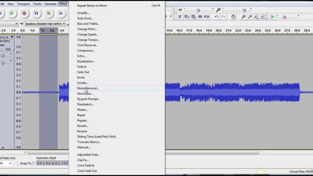 How to Improve Recording Using Audacity – FIFINE ACCESSORIES